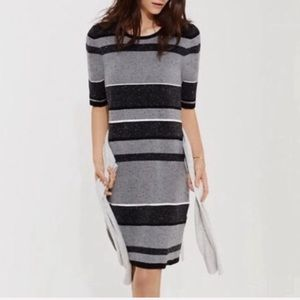 Lou & Grey striped shift dress